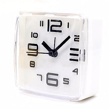 V-AFEI Reloj De Alarma Electrónica De Cabecera Despertador Escritorio Mini Reloj Electrónico Estudiante Reloj