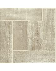 Achim Imports FTVWD23045 Achim Home Imports Tivoli Saddlewood 12 inch x 12 inch Self Adhesive Vinyl Floor Tile #230, Sandlewood, 45 Piece