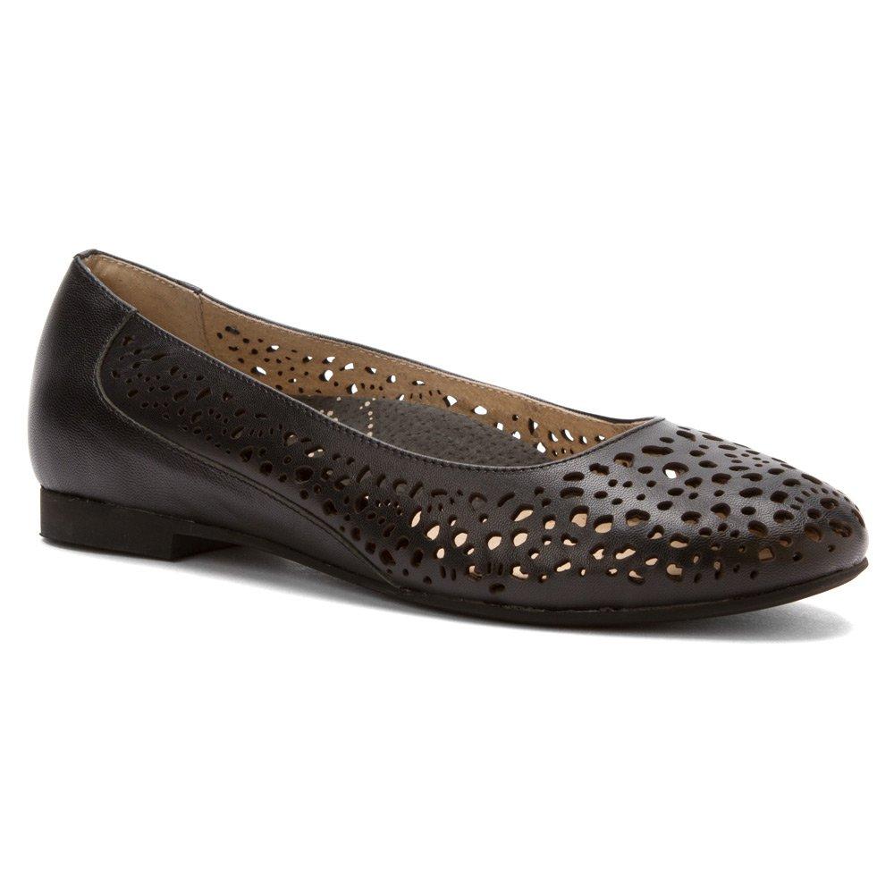 Propét Women's Cicely Flats Shoes B00MUB17E0 8 2A(N) US|Black