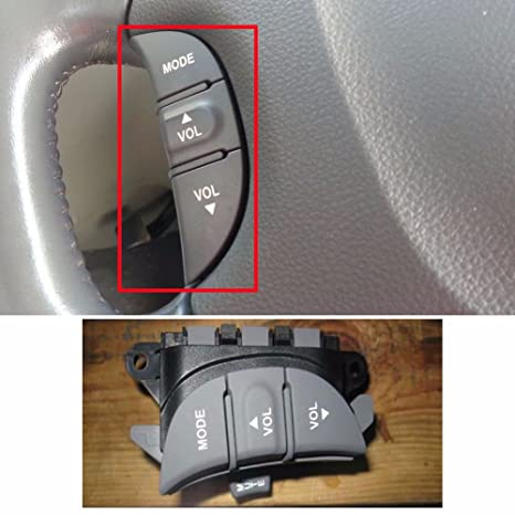 Amazoncom Steering Wheel Remote Control Switch Gray For Kia 06 14
