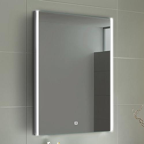 600 X 800 Mm Designer Illuminated Led Bathroom Mirror