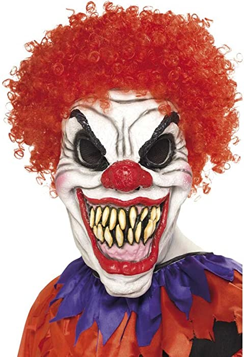 Smiffy's Scary Red-Eyed Clown Mask