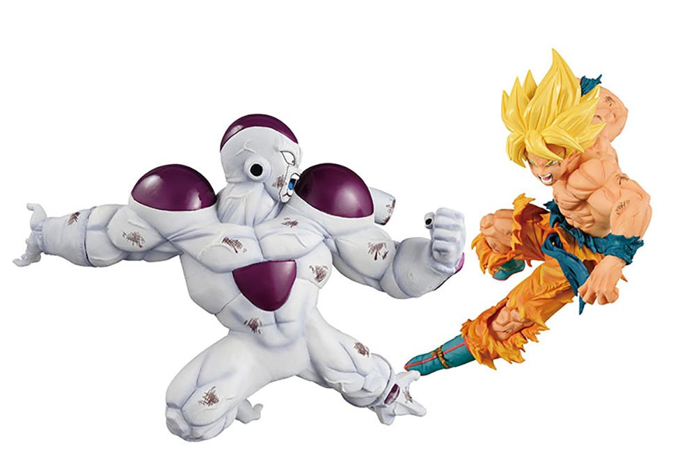 Banpresto Dragon Ball Z Match Makers Super Saiyan Son Gokou /& Full Power Freeza Set of 2 Figures SG/_B07CXHGFHY/_US