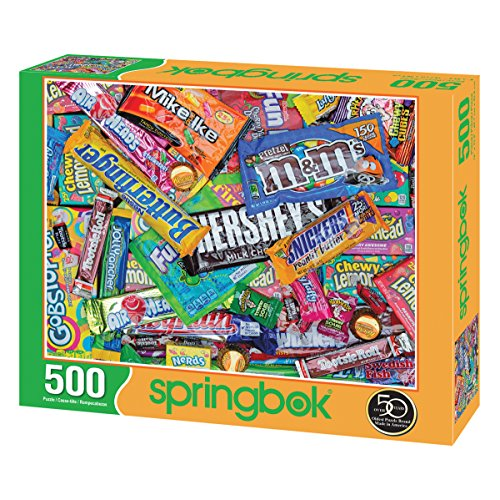 Review Springbok Sweet Tooth Jigsaw Puzzle (500 Piece)
