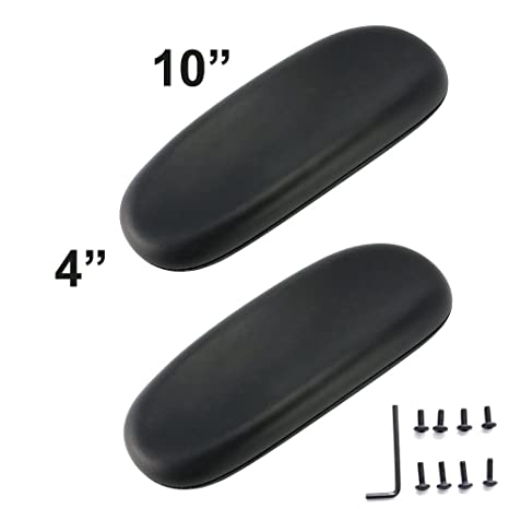 amazon com office chair armrest replacement arm pads set of 2