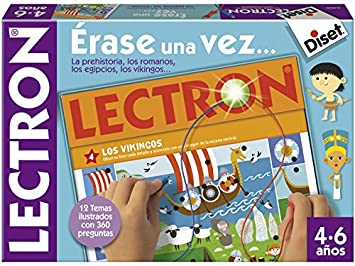 Diset Lectron - Érase una Vez, Juego Educativo de asociar Preguntas y respuestas 64939: Amazon.es: Juguetes y juegos