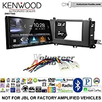 Volunteer Audio Kenwood DMX7704S Double Din Radio Install Kit with Apple CarPlay Android Auto Bluetooth Fits 2011-2014 Non Amplified Toyota Sienna