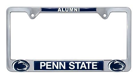 Amazon.com: Premium All Metal NCAA Alumni License Plate Frame w ...