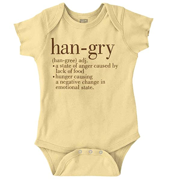 Hangry Definition Kid/'s T-Shirt Children Boys Girls Unisex Top Hungry Angry