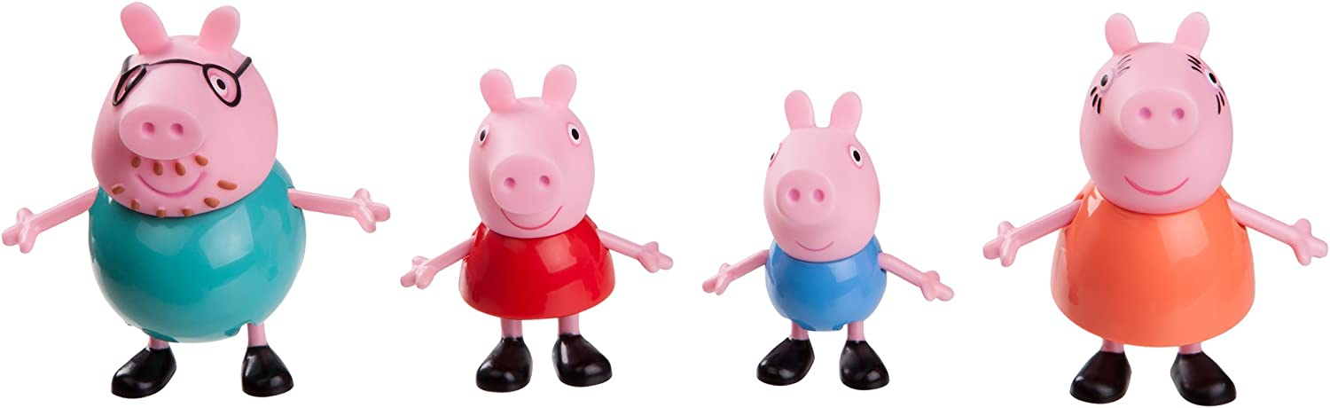Peppa Pig Family 4-Figure Pack