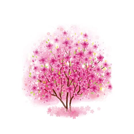 Haodou Árbol Rosa de La Vida Tatuaje Temporal Etiqueta Impermeable ...