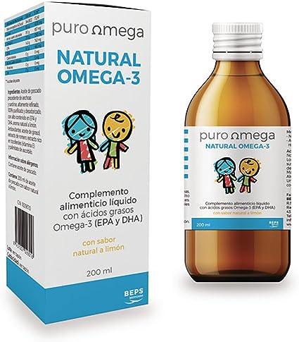 BEPS - NATURAL OMEGA NIÑOS 200ml BEPS: Amazon.es: Salud y cuidado personal