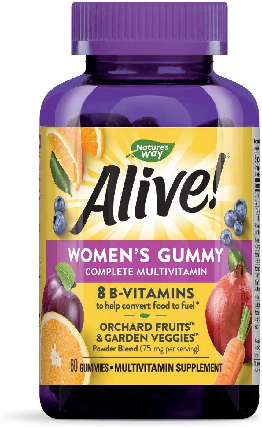 Nature's Way Alive! Women's Gummy Vitamins - 60 CT