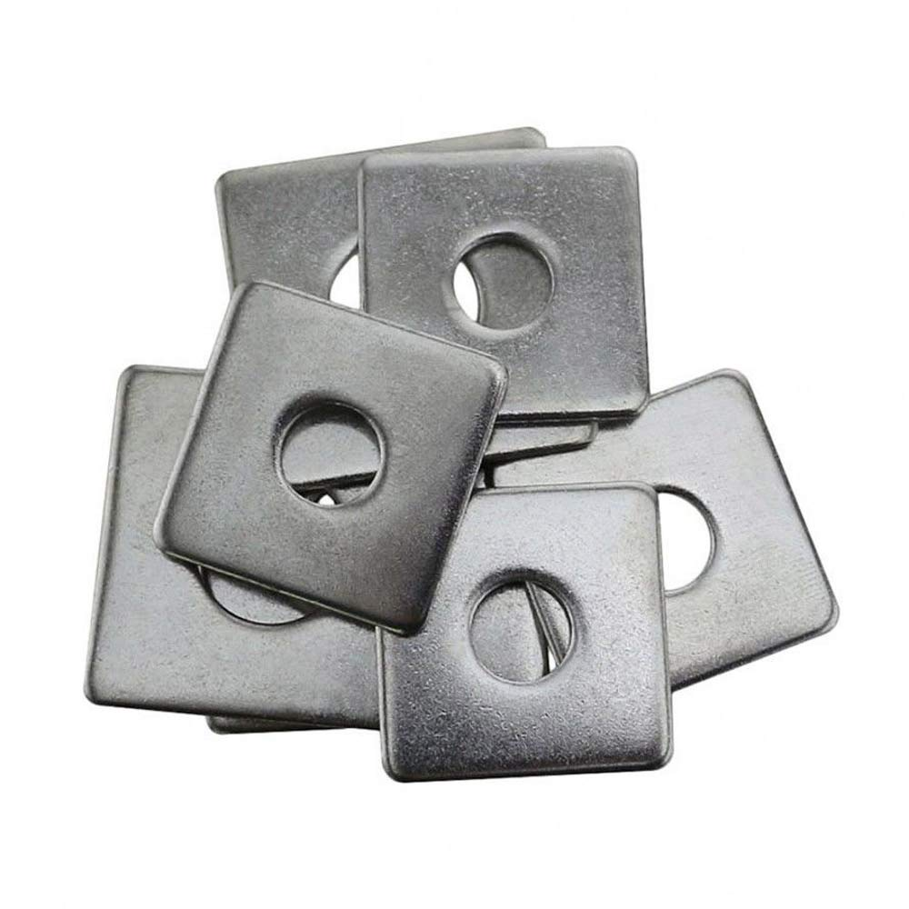 A2 Stainless Steel Square Washers Strut Washers 304 M3 M4 M5 M6 M8 M10 M12 M16 by LZH-LP