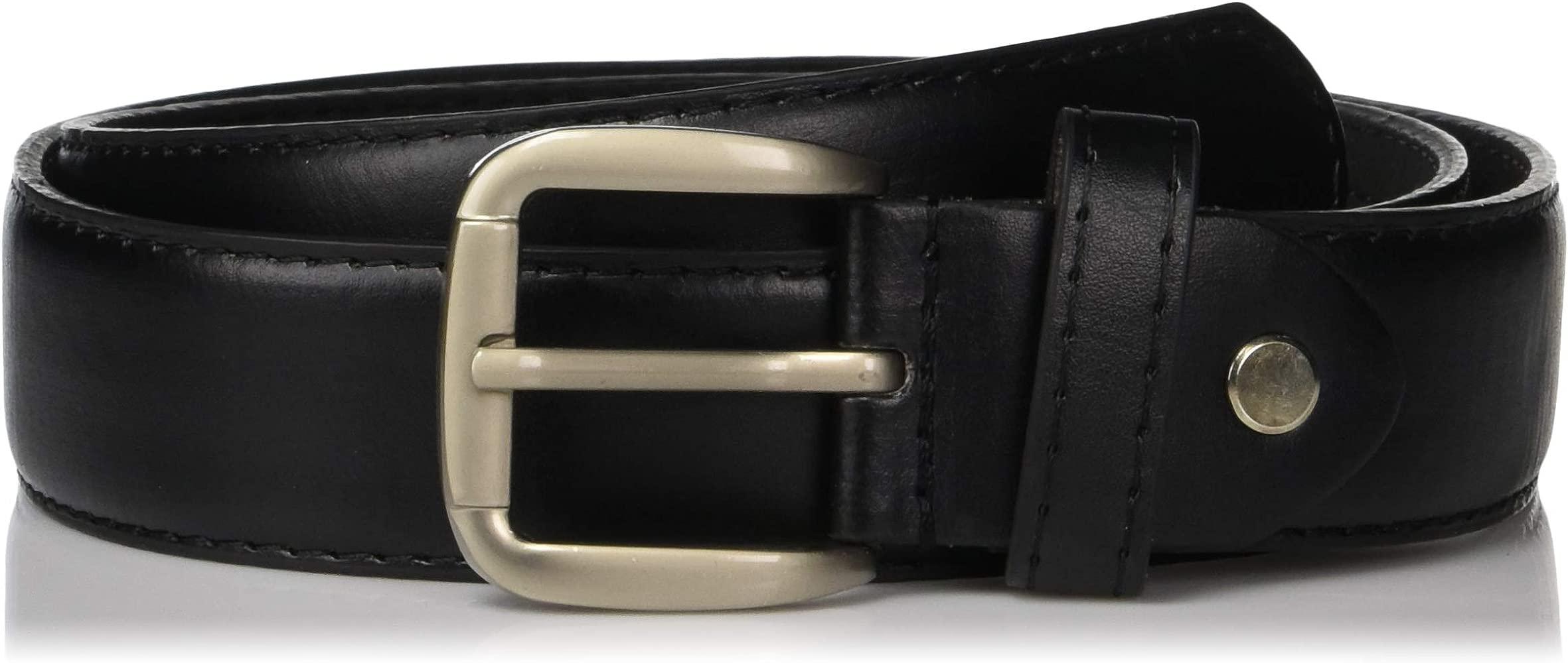 Thomas Bates Mens Deerfield Leather Money Belt