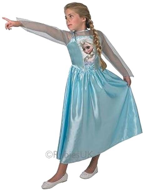 Principessa elsa di frozen per bambina con personaggi dei