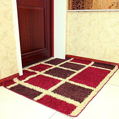 DIDIDD Alfombrillas de puerta en el vestíbulo / alfombra de interior / almohadilla del pie / Dormitorio Sala de estar Cocina...