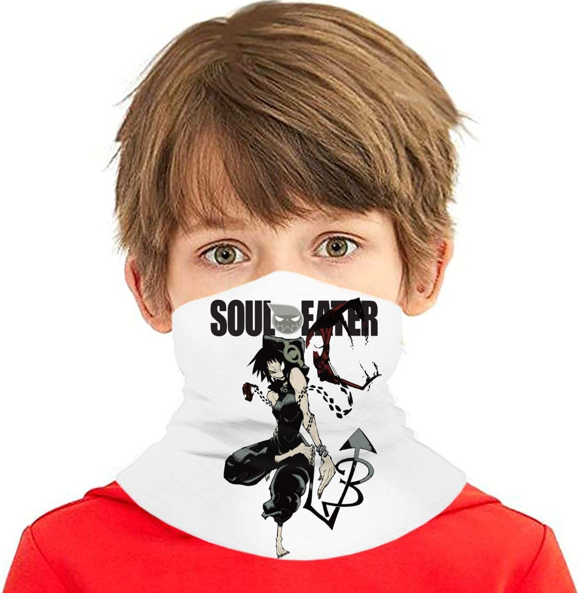 Scarf,Multi-Functional Full-Coverage for Boy//Girl Dxddsdks Soul Eater Face Cover//Headband