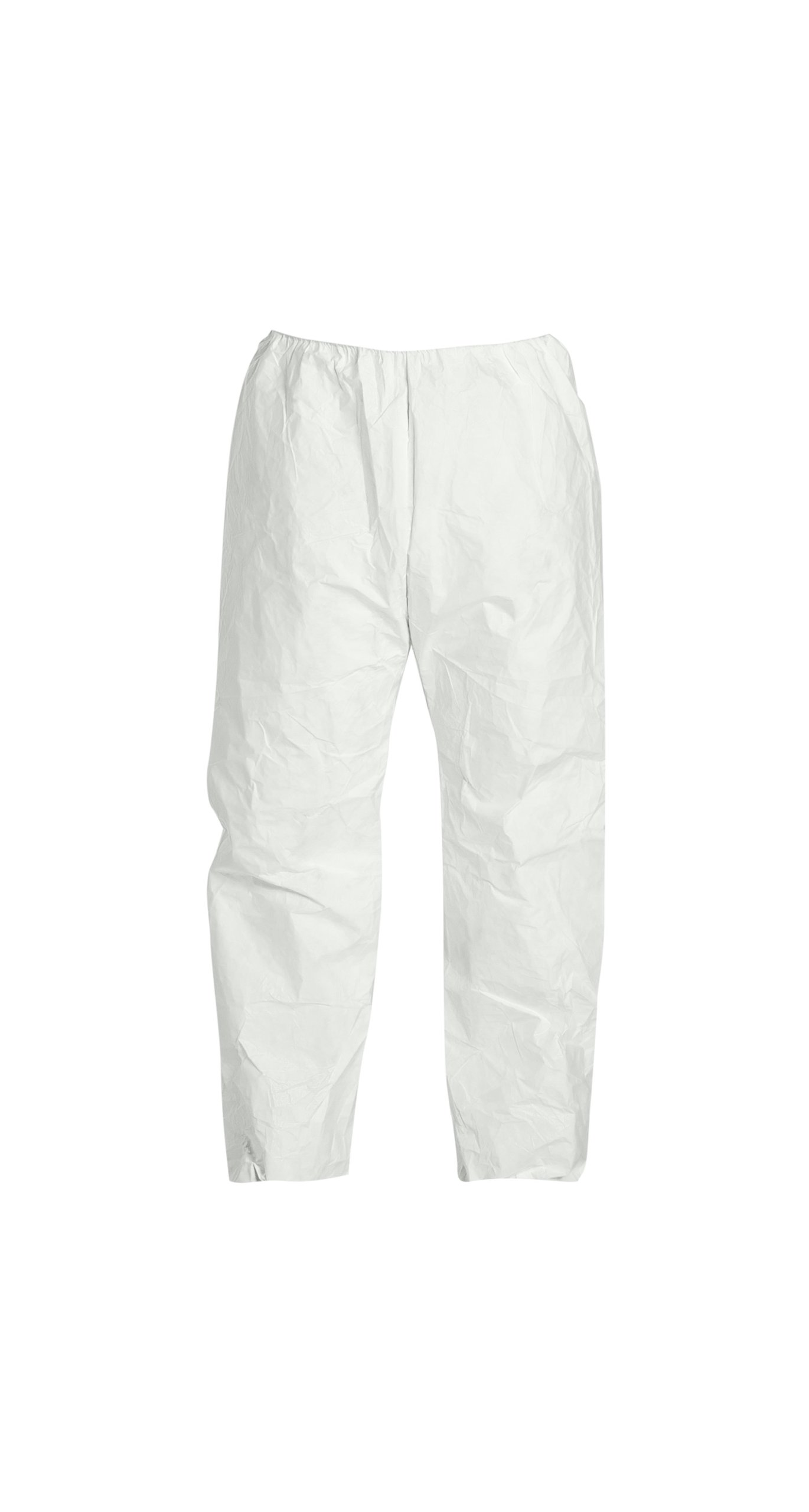 DuPont Tyvek 400 TY350S Disposable Pant with Elastic Waist, White, X-Large (Pack of 50)