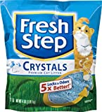 Fresh Step Crystals, Premium Cat Litter, Scented, 4 Pounds