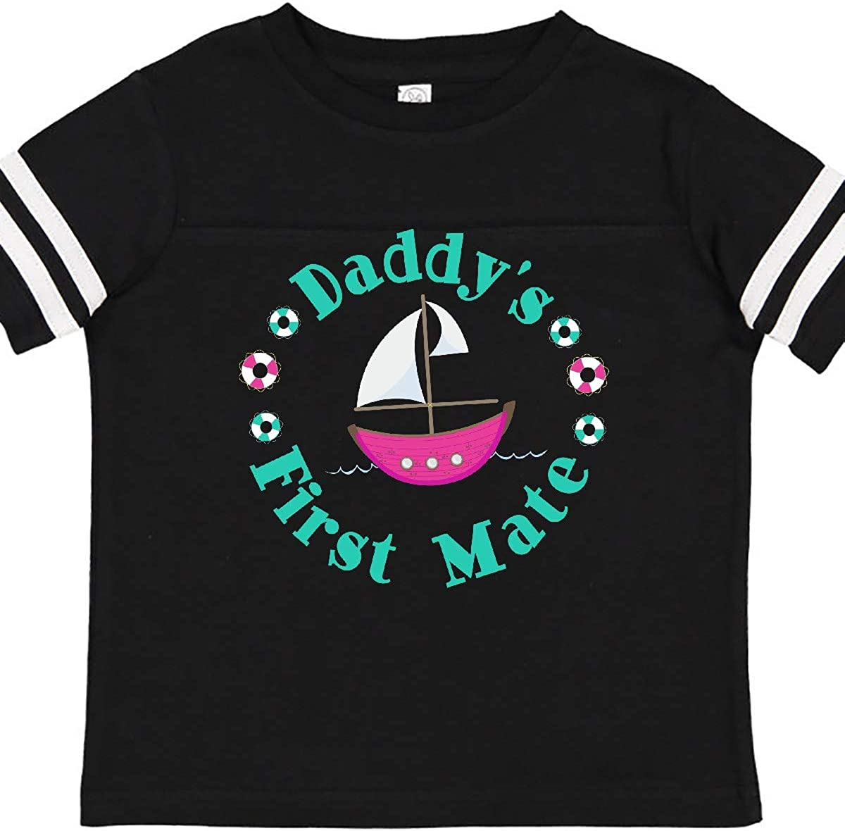 Girl Toddler T-Shirt inktastic Daddys First Mate