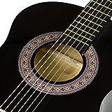 Music Alley MA-34-BK Acoustic Beginner Guitar