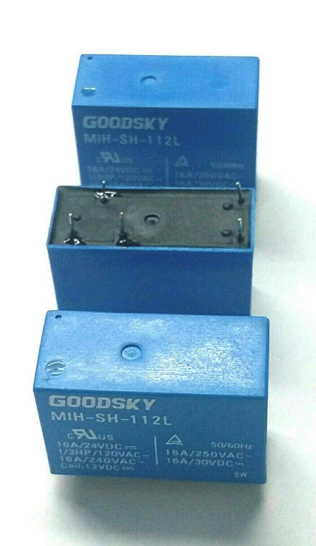 Goodsky Brand New!! 12VDC Relay MIH-SH-112L