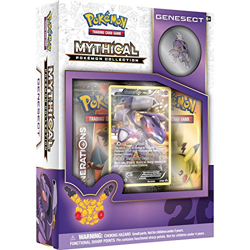 TCG Mythical Collection Genesect Card Ga