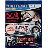 Scar: Unrated Director's Cut (English/French) 2007 / Terror Trap (English/French) 2009 / Midnight Movie (English/French) 2008 (Triple Feature Horror) 3 Films