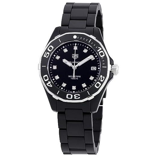Tag Heuer - Aquaracer - Reloj de mujer - way1397.bh0743: Amazon.es: Relojes