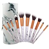 Coshine 10pcs Professional Marble Makeup Brushes Collection Set
