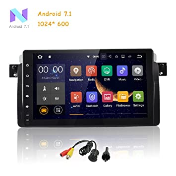 freeauto Single DIN Android 7.1 para BMW 3 Series E46 9 pulgadas en Dash HD pantalla