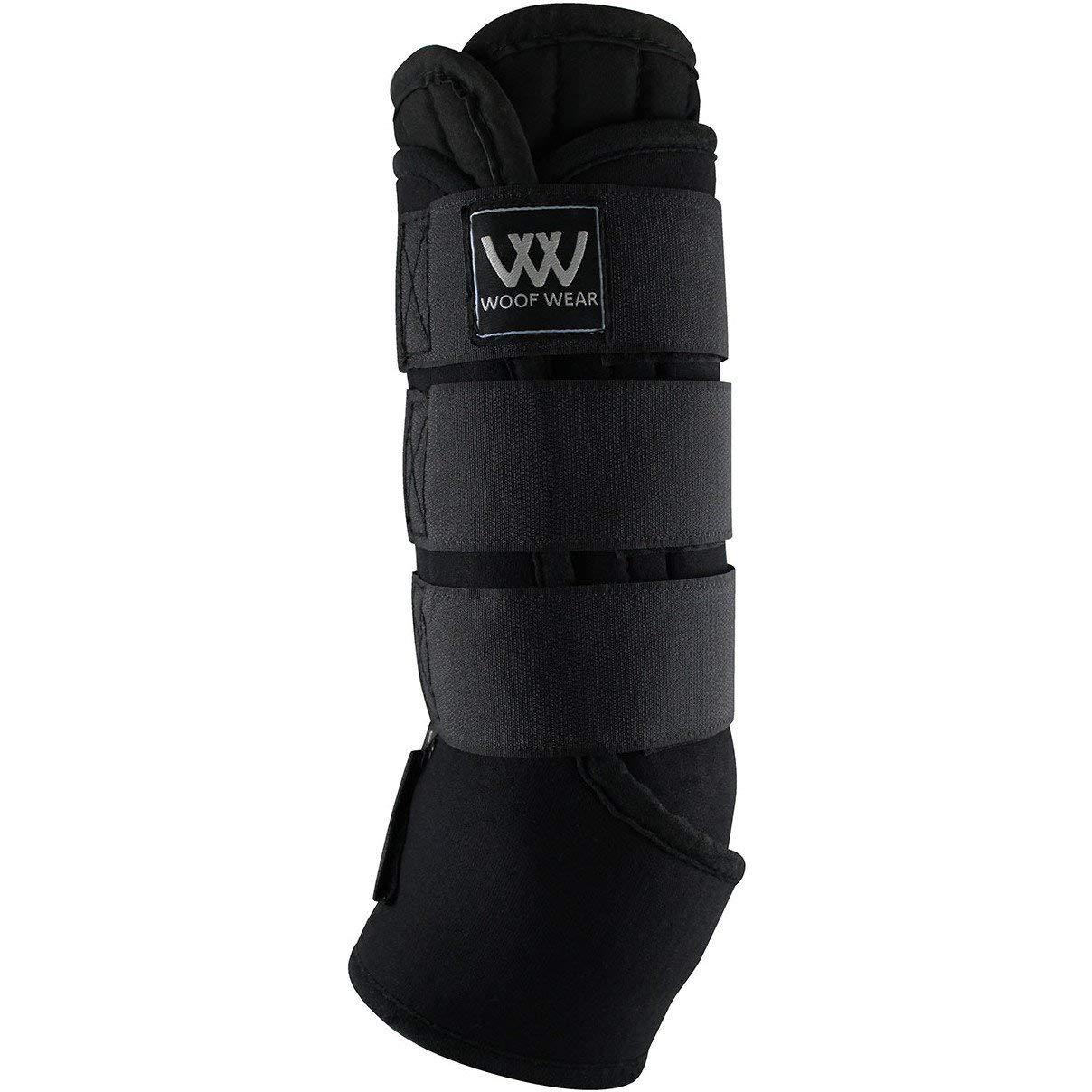 Woof Wear Wickingライナー安定チャップスX Largeブラック   B076WLPX2J