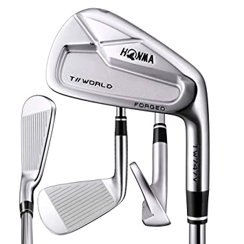 Amazon.com: HONMA Tour World TW747V RH 4-10 - Juego de ...