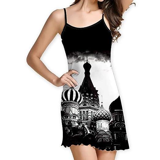 6effdb75535 Amazon.com  XLnuln Women Vintage Boho Dresses Summer Sleeveless T ...