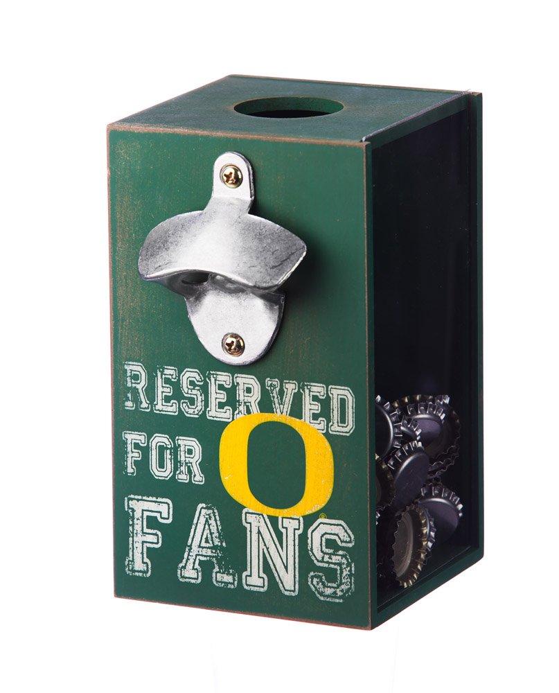 Team Sports America NCAA Wooden Bottle Cap Caddy Evergreen Enterprises Inc.