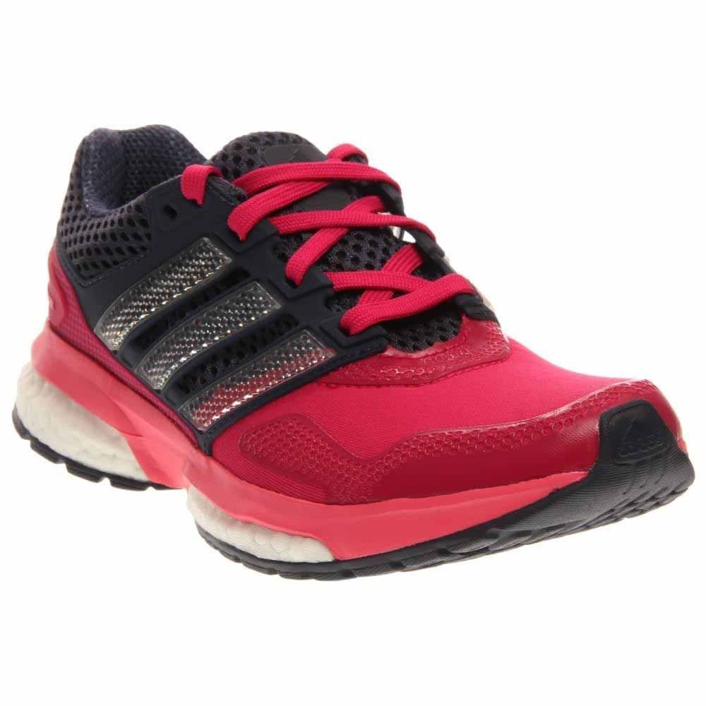 Adidas Response Boost 2 Techfit J Round Toe Synthetic Running Shoe B24324