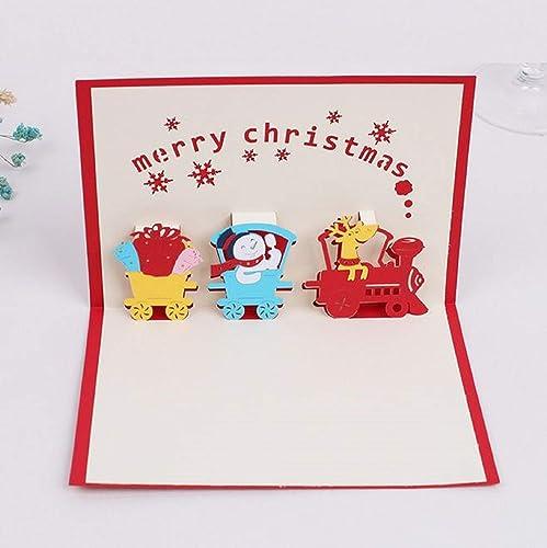 BC Worldwide Ltd hecho a mano 3D pop-up tarjeta Feliz ...