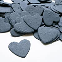 Heart Shaped Plantable Seed Confetti (French Blue) - 350 Pieces/Bag