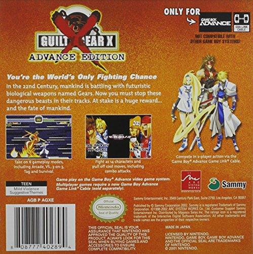 Guilty Gear X: Advance Edition