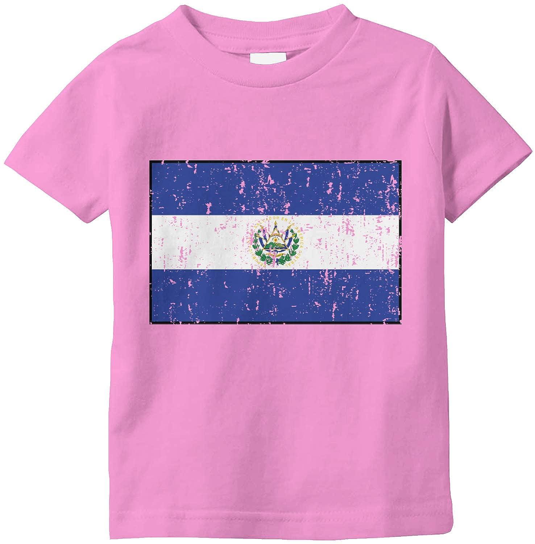 Amdesco El Salvador Flag Salvadoran Infant T-Shirt