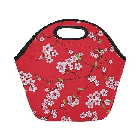 Bolsa de almuerzo de neopreno con aislamiento Chinese Sakura ...