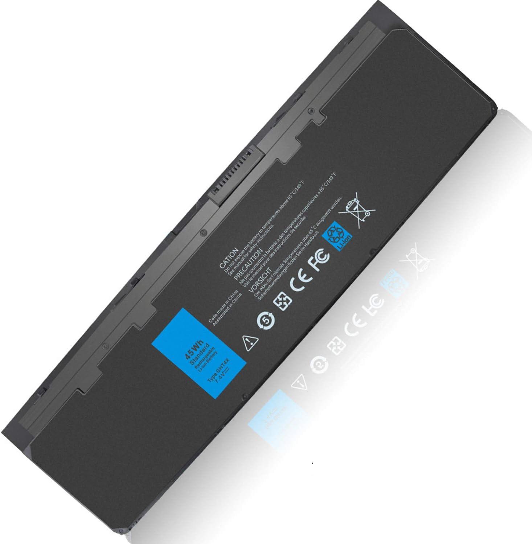 45WH E7240 E7250 GHT4X WD52H Compatible with Dell Latitude 7240 7250 Ultrabook X01 PT1 GVD76 HJ8KP VFV59 KWFFN JN0J1 J31N7 GD076 F3G33 NCVF0 W57CV 451-BBFS 451-BBFW 451-BBFX 451-BBQD