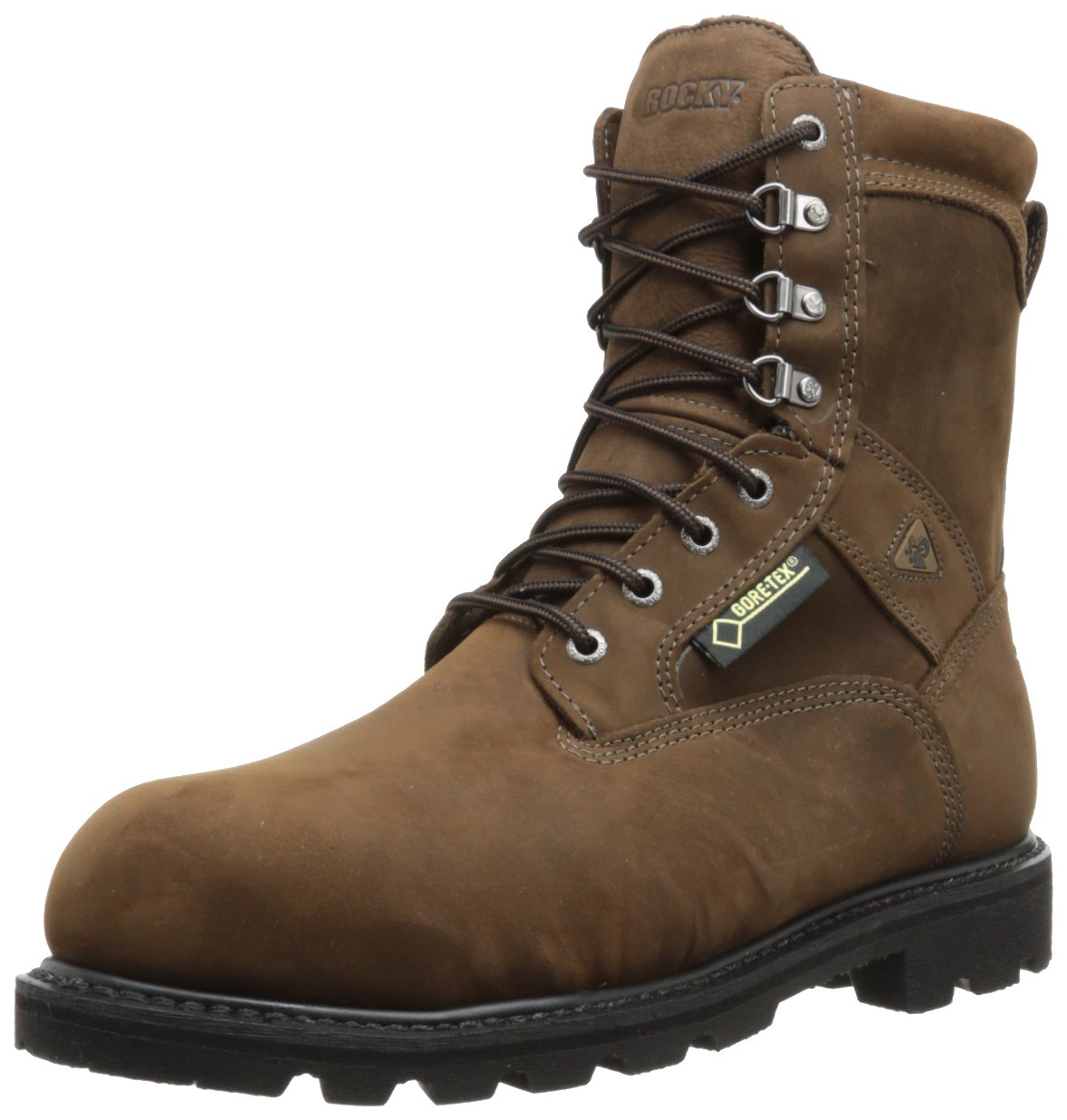 Rocky Men's Ranger Steel Toe Insulated GORE-TEX Boots,Brown,8.5 M US