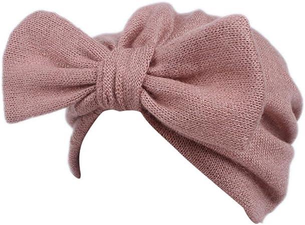 Gorros Bebé Invierno cálido Sombreros Sombrero Que Hace Punto de los bebés de los niños Gorro