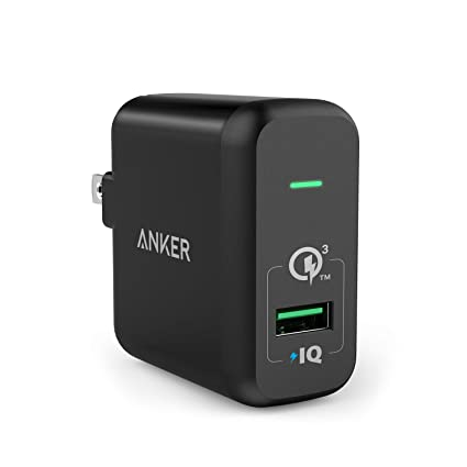 Quick Charge 3.0, Anker 18W USB Wall Charger (Quick Cha...