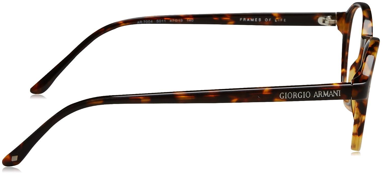 92b7d967278 Eyeglasses Giorgio Armani AR 7004 5011 MATTE HAVANA at Amazon Men s  Clothing store  Prescription Eyewear Frames