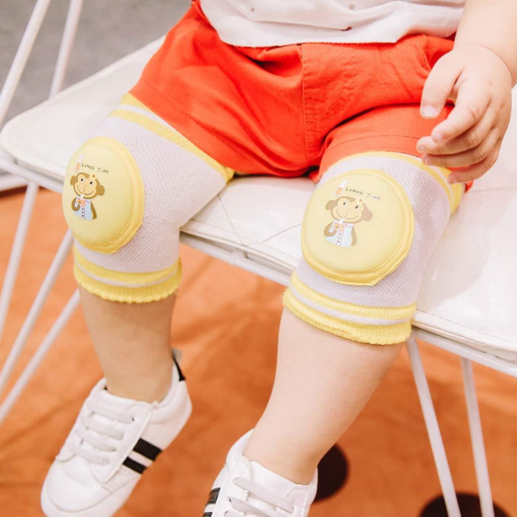Haorw Knieschoner Baby Krabbeln Kniesch/ützer Kniepolster Schutzausr/üstung Baby,fur 0-24 Monate Kleinkind Gehendes Lernen