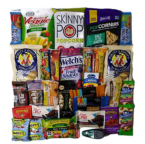 Healthy Snacks Care Package (30 Count) by DE