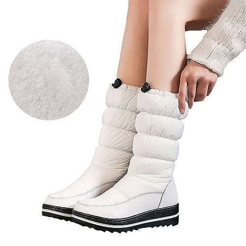 wetkiss Botas térmicas de Invierno para Mujer 3ac03c3b7db6